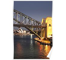 Sydney Harbour Icons Poster