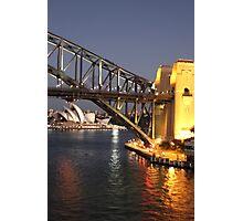 Sydney Harbour Icons Photographic Print
