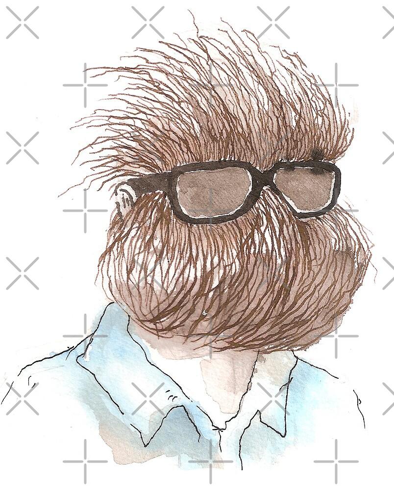 Beard Man by Tristan Klein