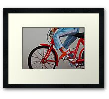 Fluke or Real Ride Framed Print
