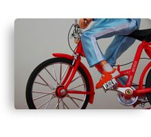 Fluke or Real Ride Canvas Print
