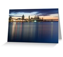 The Entrance Sunset Greeting Card