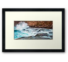 Wash Up Framed Print