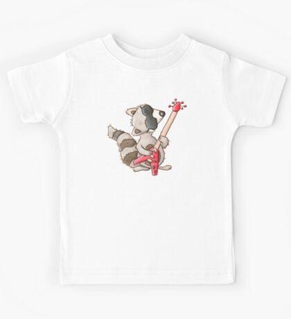 Rocky raccoon Kids Tee