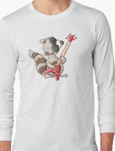 Rocky raccoon Long Sleeve T-Shirt