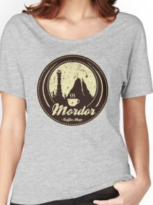 MORDOR COFFEE SHOP Women's Relaxed Fit T-Shirt