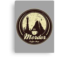 MORDOR COFFEE SHOP Canvas Print