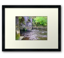 Down by the stream  Framed Print