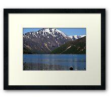 Cold Water Lake, Washington Framed Print