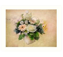 The Flower Arangement  Art Print
