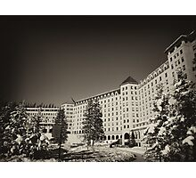 Fairmont Chateau at Lake Louise Photographic Print