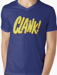 Clank! Mens V-Neck T-Shirt