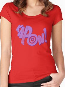 Kapoow! Women's Fitted Scoop T-Shirt
