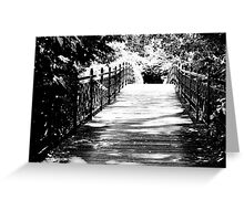 Over the Bridge Greeting Card