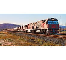 Mineral Resources Limited Iron Ore Train Photographic Print