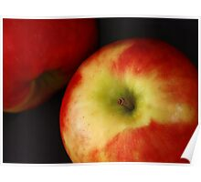 2 apples. Poster