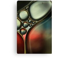 Oil & Water Metalics Collection IV Canvas Print