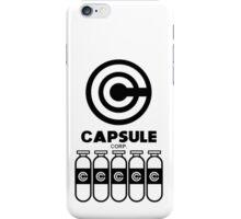 Capsule Corp v5 iPhone Case/Skin
