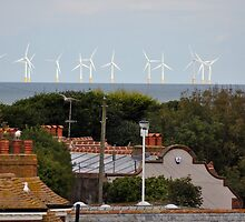 Windfarms in Thanet by TerriBethell