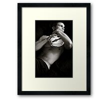 Rugby Series 8 Framed Print