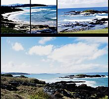 Sawtell Looking towards Coffs Harbour/NSW Australia by LESLEY BUtler