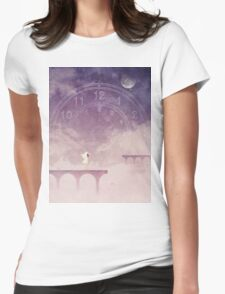 Time Portal Womens Fitted T-Shirt