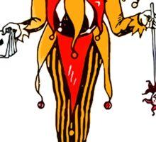 Joker Playing Card Sticker Sticker
