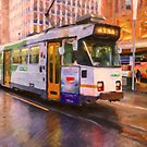 Rainy Day Melbourne by Chris Armytage™