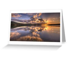 Light Show - Narrabeen Lakes , Sydney Australia - The HDR Experience Greeting Card