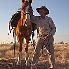 Jeff Simpson - Drover by Carmel Williams