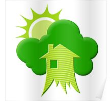Green House Poster