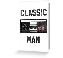 Classic Man (NES) Greeting Card