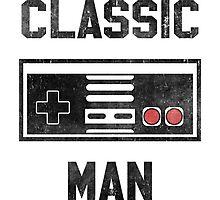 Classic Man (NES) Photographic Print
