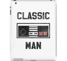 Classic Man (NES) iPad Case/Skin