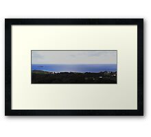 Coffs Harbour in the mountains Framed Print