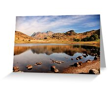 Lake District Tarn Greeting Card