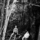 Tree & Kids by LESLEY B