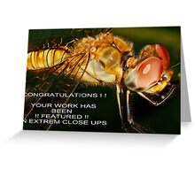 Extreme Closeups Challenge Banner Greeting Card
