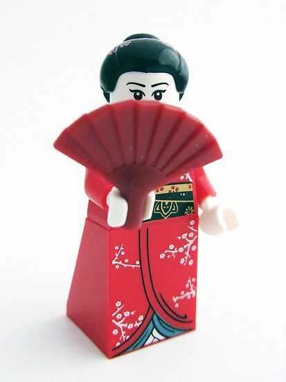 Geisha Girl by HRLambert