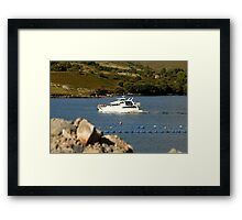 Cruiser at Killary Harbour, Ireland Framed Print