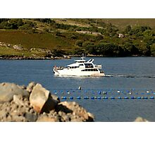 Cruiser at Killary Harbour, Ireland Photographic Print