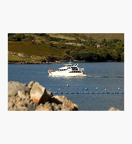 Cruiser at Killary Harbour, Ireland Photographic Print