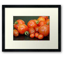 Harvest :) Framed Print