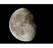 Moon Three Quarters Photographic Print