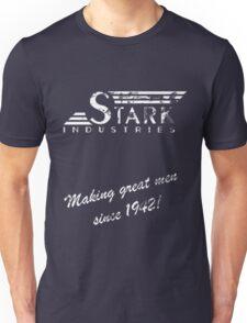 Stark Industries - Old Logo and Slogan Unisex T-Shirt