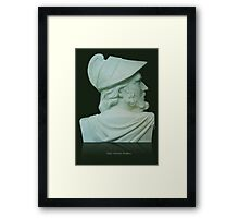 Greek Bust Framed Print