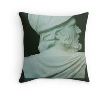 Greek Bust Throw Pillow