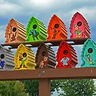 Birdhouses in Style by Susan Blevins