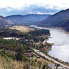 Columbia River at Trail by Jann Ashworth