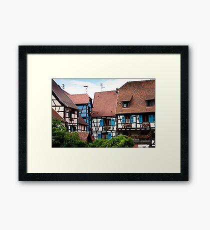 Eguisheim The Beautiful 3 Framed Print